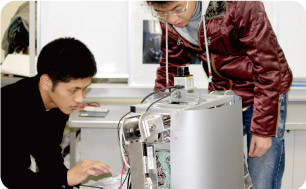 Undergraduates and graduates are robotics experts.